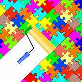 Background  jigsaw puzzle
