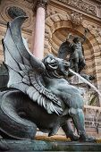 stock photo of michel  - Winged lion - JPG