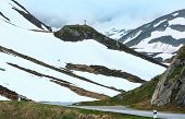 Summer Mountain Landscape (oberalp Pass, Switzerland)