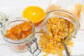 Candied Oranges Cut Into Pieces