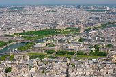 Paris In A Sunny Summer Day
