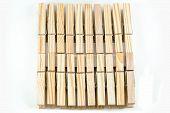 Clothespins Wooden