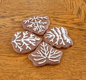 Cookies In Form Of Trees