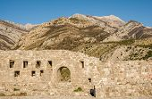 Ancient Walls In The Old Town Of Bar, Montenegro