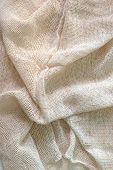 Elegant  Linen Fabric Texture Background