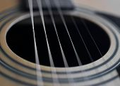 Guitar Detail Sound Hole