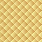 Golden texture background. Leather seamless pattern. Vector