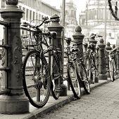 bicycles in Berlin