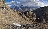 stock photo of shan  - Scenic panorama of Tien - JPG