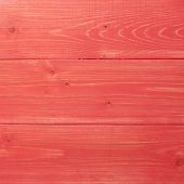 Painted wood boards composition