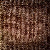 Rectangle From  Brown Saskcloth