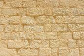Sandstone Brick Wall Background