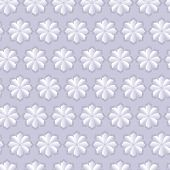 Vector floral seamless pattern 3-D.