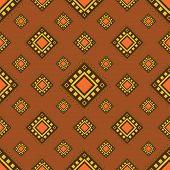 Tribal seamless pattern.
