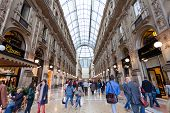 Buyer In Trade Galleria Vittorio Emanuele Ii In Milan