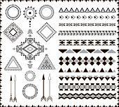 Aztec elements.