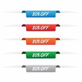 80% Off Paper Tag Labels