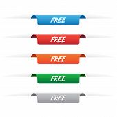 Free Sale Paper Tag Labels