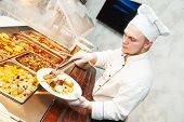 foto of buffet  - Catering services - JPG