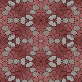 stock photo of marsala  - Kaleidoscopic mosaic marsala - JPG