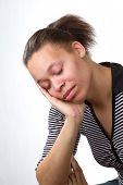 Sleepy Woman