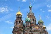 Church of  Savior on Blood - very famous landmark in Saint Petersburg, Russia, Europe poster