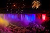 Waterfalls Fireworks