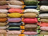Rows And Rows Of Pillows