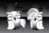 Urban Hoot Owls Rapping