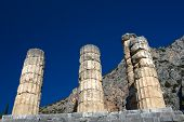 Delphi Greece Apollo temple