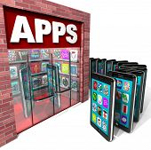 Apps Store - Mobile Smart Phones Buying Applications