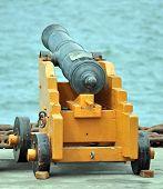 Old Naval Gun