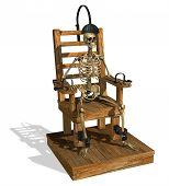 Electric Chair With Skeleton