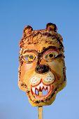 Mardi Gras Lion Mask And Sky