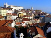 Roofs Of Alfama