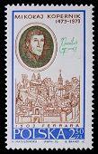 Poland - Circa 1970: A Stamp - Nicolaus Copernicus