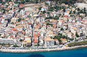 Aerial view on Zakynthos Greece - Zante town