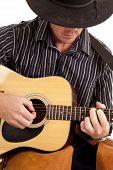 Cowboy Playing Guitar