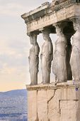Athens, Greece - Kariatides