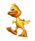3D Duck Character