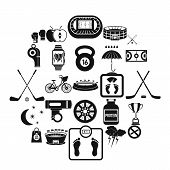 Wheeling Icons Set. Simple Set Of 25 Wheeling Vector Icons For Web Isolated On White Background poster