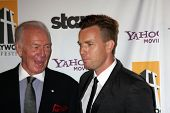 LOS ANGELES - OCT 24:  Christopher Plummer (L) and Ewan McGregor arriving at the 15th Annual Hollywood Film Awards Gala at Beverly Hilton Hotel on October 24, 2011 in Beverly Hllls, CA