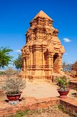 Poshanu Or Po Sahu Inu Tower Or Pho Cham Tower Is A Group Of Relics Of The Cham Towers In The Old Ki poster