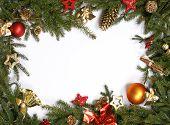 Christmas bordering