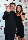 LOS ANGELES - OCT 3:  Eric Stonestreet & Date arrives to the