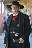 A Stoic Wyatt Earp Of Helldorado, Tombstone, Arizona