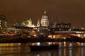 St Pauls, London At Night.