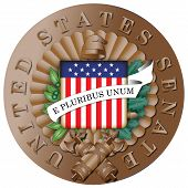 Seal of the United States Senate Bronze