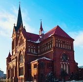 St.george Cathedral In Jelgava City