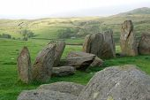 Standing Stones At The Swinside Stone Circle, Cumbria, England